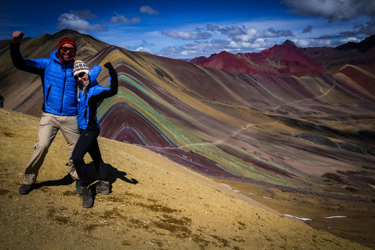 Rainbow Mountain - Peru