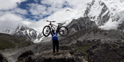 Deepak Rai – Mount Everest na rowerze.O tym jak zjechałem na rowerze z najwyższego miejsca na ziemi